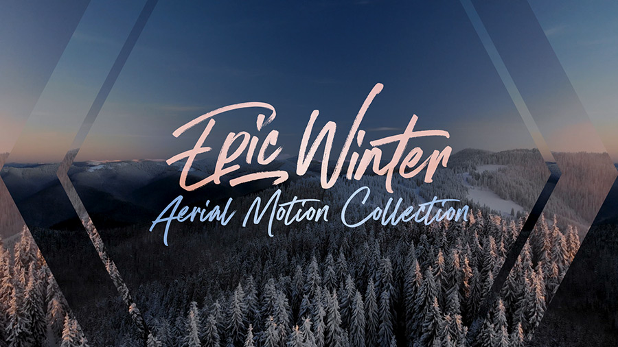 Epic Winter Aerial Collection