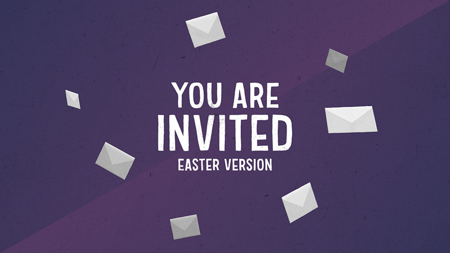 Easter Church Invite Video